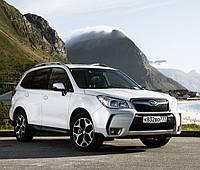 Брызговики модельные Subaru Forester 2012- (Лада Локер) передние.