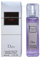 Мини парфюм Christian Dior Dior Homme Sport (Кристиан Диор Диор Хоум Спорт) 50 мл.