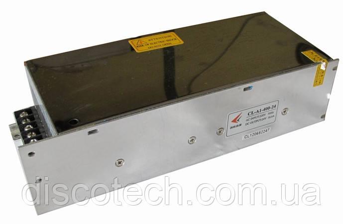 Блок питания 24V/400W 16,6A IP20 CL-A1-400-24