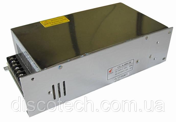 Блок питания 24V/600W 25A IP20 CL-A-600-24