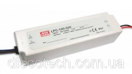 Блок питания 700mA/100W 72-143V IP67 LPC-100-700 Mean Well