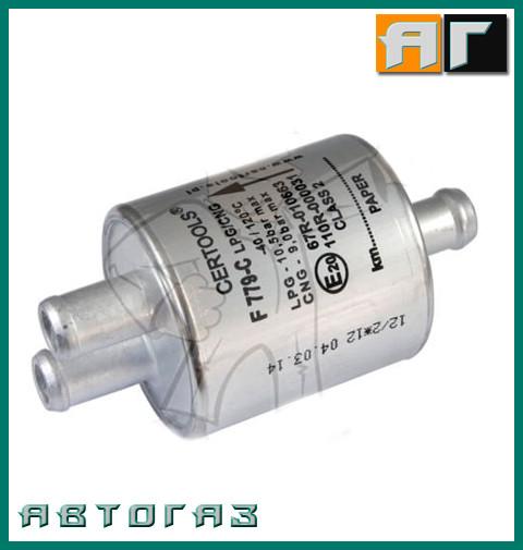Фільтр парової фази ГБО Certools F779-C 3Х12мм.