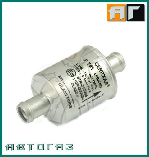 Фильтр летучей фазы ГБО Certools F-781 2Х16мм. Стекловолокно