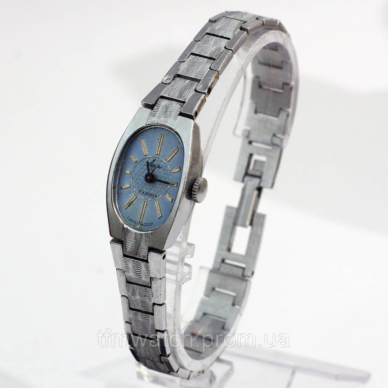 Женские советские часы Луч 17 камней