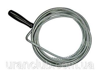 Трос сантехнический для прочистки труб  Диаметр 8мм