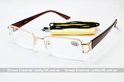 Окуляри для корекції зору з діоптріями (+/-)