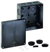 Розподільча коробка, вуличне встановлення, чорна Abox-i 100 - L/sw