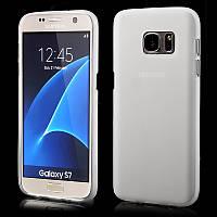Чехол Original Silicon Matte Samsung Galaxy S7 G930 Clear