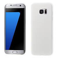 Чехол Original Silicon Matte Samsung Galaxy S7 Edge G935 Clear