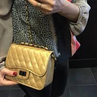 Сумочка Chanel золото