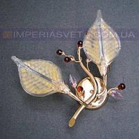 Декоративное бра, светильник настенный TINKO двухламповое LUX-324205