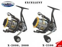 """Катушка """"Fishing ROI"""" Excellent-X 2506 8+1 ш.п"""