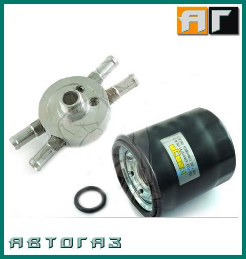 Комплект фильтра летучей фазы ГБО Czaja FL02 с основой 4Х12. Полиэстер