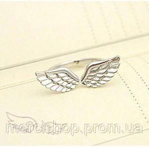 """Кольцо """"Крылья ангела"""" (цвет: серебряный)"""