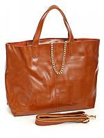 Женская сумка кожаная 10612 Brown