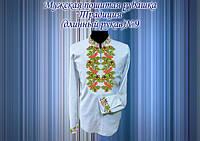 Пошитая мужская сорочка Традиция 09