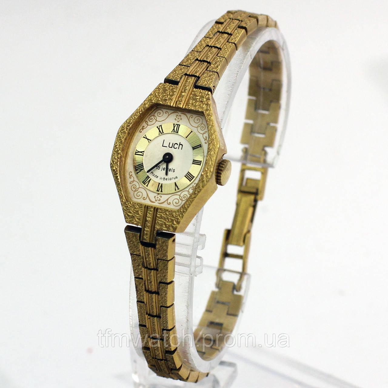 Луч женские часы 15 камней