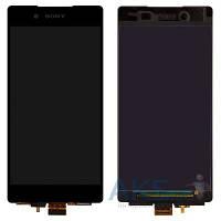 Дисплей (экран) для телефона Sony Xperia Z3+ E6533, Xperia Z4 DS E6553 + Touchscreen Black