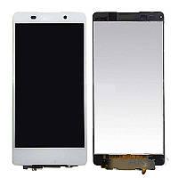 Дисплей (экраны) для телефона Sony Xperia Z5 E6603, Xperia Z5 E6653, Xperia Z5 Dual E6683 + Touchscreen White