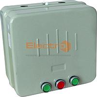 Пускатель ПМЛк-1 реверсивный 40А, реле, контакт приставка, в металлической оболочке, Ue=220В/АС3 IP65 Electro