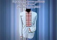 Пошитая мужская сорочка Традиция 33