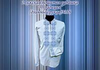 Пошитая мужская сорочка Традиция 38