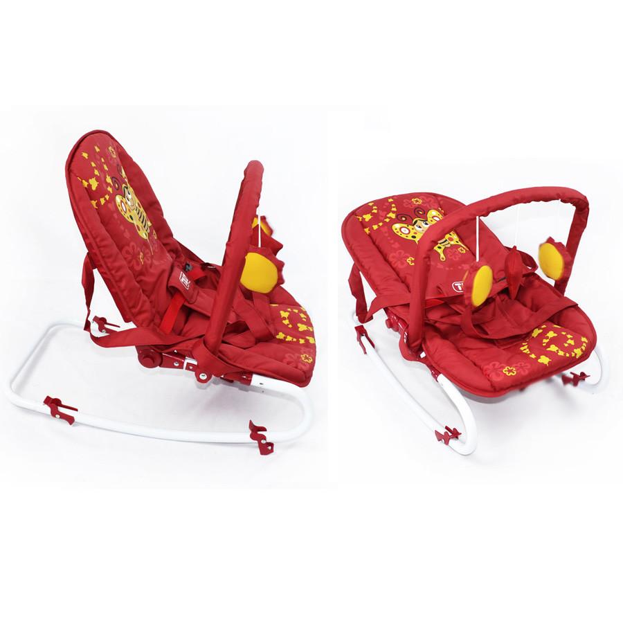 Шезлонг-качалка BT-BB-0001 Red