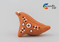 Керамическая свистулька маленькая, фото 1