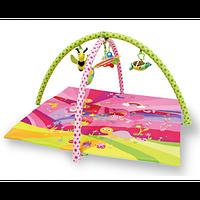 Детский развивающий коврик для девочки Bertoni Fairy-Tales pink