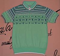 Детская футболка для мальчиков мята Blueland