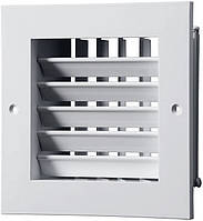 Решетка вентиляционная ДР 150*150 у ВЕНТС с регулируемыми направляющими воздушного потока, VENTS