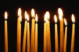 Свечи церковные