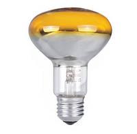 Лампа рефлекторная PILA 60W R80 E27 жёлтая (Польша)
