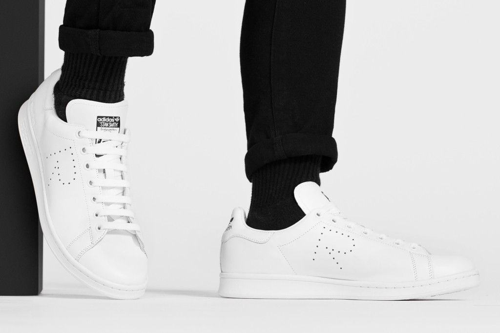 new arrival a9638 8583b Кеды в стиле Adidas X Raf Simons Stan Smith Aged White мужские