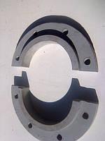 Хомут натяжного колеса чертеж 1080.33.23-1(Запчасти к экскаваторам ЭКГ-5)