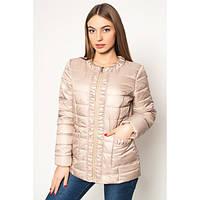 Куртка стильная короткая женская драпированная АЛ29Б