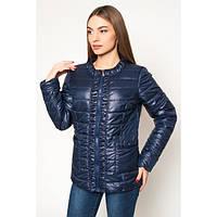 Куртка стильная женская демисезонная драпированная АЛ29ТС