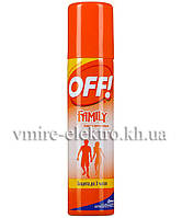 Аэрозоль от комаров OFF Family 100 мл