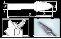 Проминструмент овальна 6 насічка 6 Борфреза