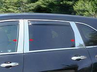 Хром накладки на дверные стойки  для Acura MDX 2007-2013 6 эл.