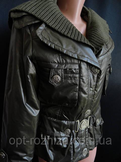 Курточки осенние с карманами оптом купить