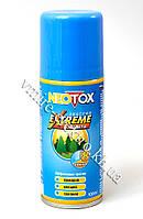 Аэрозоль от комаров, клещей, мокрецов, слепней, москитов, блох, мошек Neotox Extreme 100 мл (Уценка)
