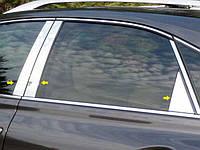 Хром накладки на стойки дверей для Lexus RX350 2010-2012 6 эл.