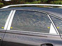 Хром накладки на стойки дверей для Lexus RX350 2010-2012 8 эл.