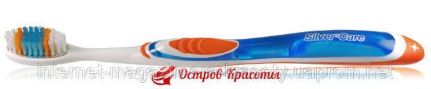 Зубная щетка Silver Care Н2О Тynex, с защитным колпачком + 1 сменная головка. 172204357