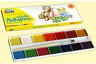 Краски акварельные Гамма медовые Любимые игрушки 14 цветов (311038)