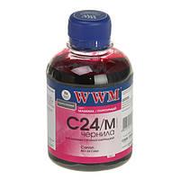 Чернила WWM для принтеров  Canon   C24/М (Magenta/Пурпурный)