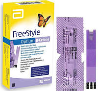 Тест-полоски FreeStyle Optium B-Ketone, 10 шт.