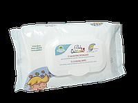 Очищающие салфетки детские с успокаивающими экстрактами ромашки, алоэ вера и протеинами овса Cucciolo Natura House 72 шт/уп 104600037