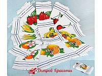 Полотенце кухонное вафельное Fakilli Class Fruits 12 шт (30*50) 320020037